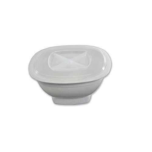 Nordic Ware Microwave Popcorn Popper, White, 12 Cup