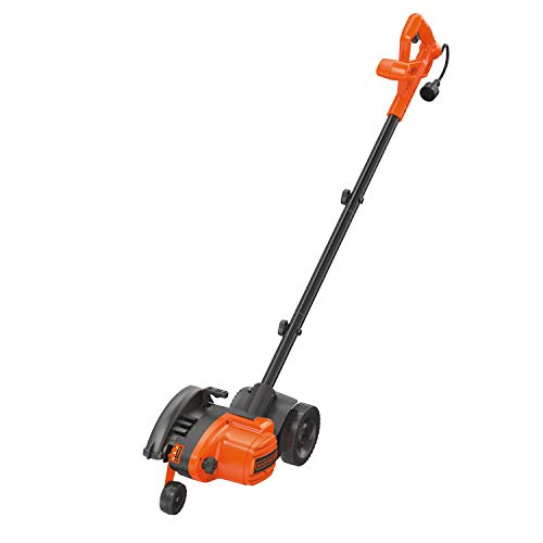 BLACK+DECKER LE760FFAM Landscape Edger (contains LE750, EH1000 blade, and EB-007), Black/Orange