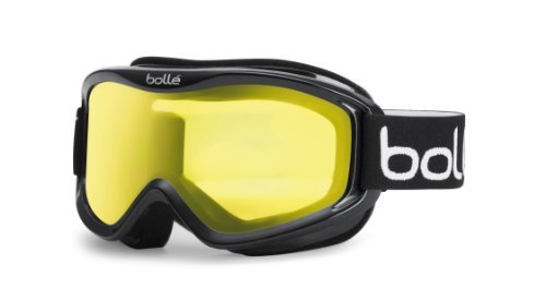 Bollé MOJO Shiny Black/Clear   Medium - Snow Goggles Unisex-Adult