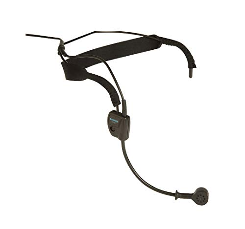 Shure WH20XLR Dynamic Headset Microphone - (Wired) Includes 3-pin Male XLR Connector with Detachable...