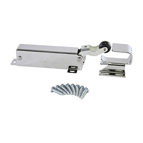 Kason 1094 SureClose Hydraulic Door Closer, Exposed with Flush to 3/4 Inch Hook,...