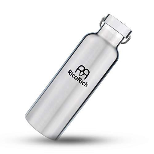 RicoRich Double Walled Vacuum Insulated Stainless Steel Sports Water Bottles,Travel Hydration...