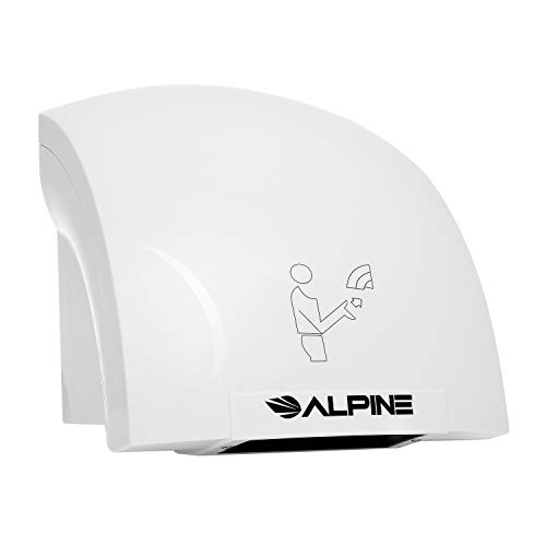 Alpine Hazel Automatic Hand Dryer | ABS Polycarbonate Hands Drying Device | Ultra-Quiet High Speed...