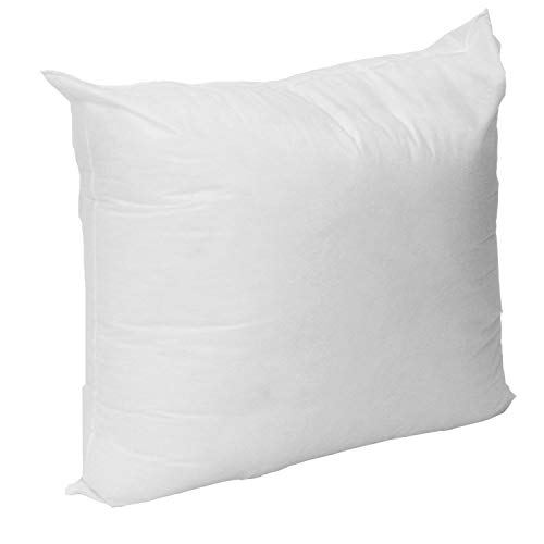 Mybecca 18 X 18 Sham Stuffer Square Hypoallergenic Pillow Insert Polyester, White (First Quality)...