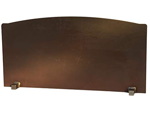 Grate Wall of Fire Model RF-7 Reflective Fireback 31' Wide, 15 1/2' Tall.