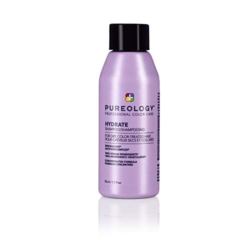 Pureology Hydrate Moisturizing Shampoo | For Medium to Thick Dry, Color Treated Hair | Sulfate-Free...