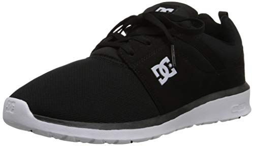 DC Shoes Mens Shoes Heathrow - Low Shoes - Unisex - US 9 - Multicolor Black/Red/Yellow US 9 / UK 8 /...