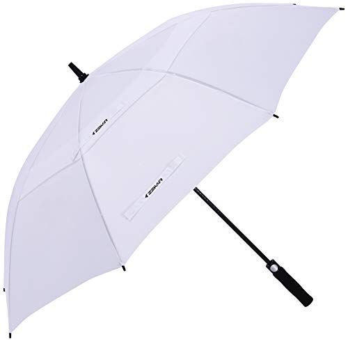 ZEKAR 54/62/68 Inch Windproof Large Golf Umbrella, Oversized Double Canopy Vented Waterproof Stick...
