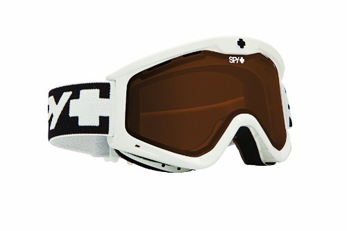 SPY Optic Targa 3 Snow Goggles (White, Bronze)