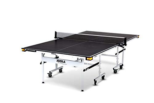 JOOLA Rally TL - Professional MDF Indoor Table Tennis Table w/ Quick Clamp Ping Pong Net & Post Set...