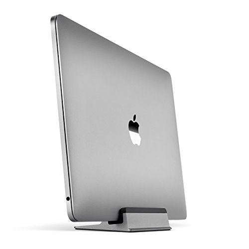 UPPERCASE KRADL Small Profile Space Saving Aluminum Vertical Stand for MacBook Pro 13' or 15' (2016...