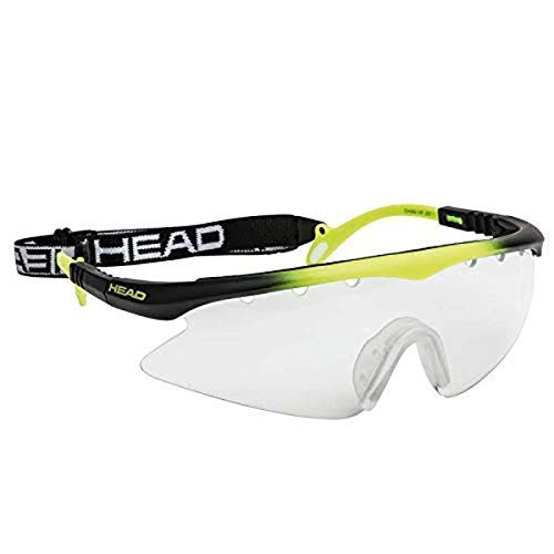 HEAD Racquetball Goggles - Powerzone Shield Anti Fog and Scratch Resistant Protective Eyewear...