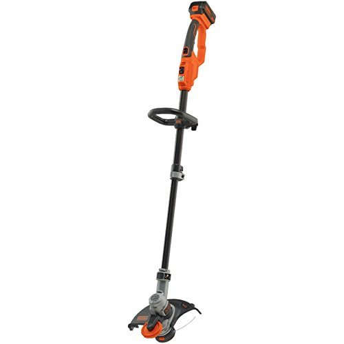BLACK+DECKER LST400 20V Lithium High Performance Trimmer and Edger, 12'