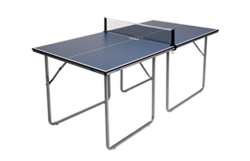 JOOLA Midsize - Regulation Height Table Tennis Table Great for Small Spaces and Apartments - 2/3...