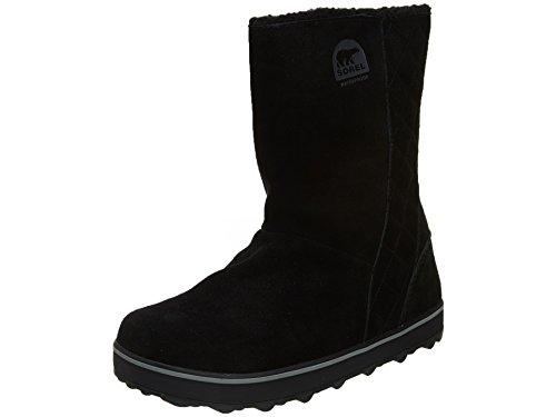 Sorel Women's Glacy Snow Boot, Black, 5 M US