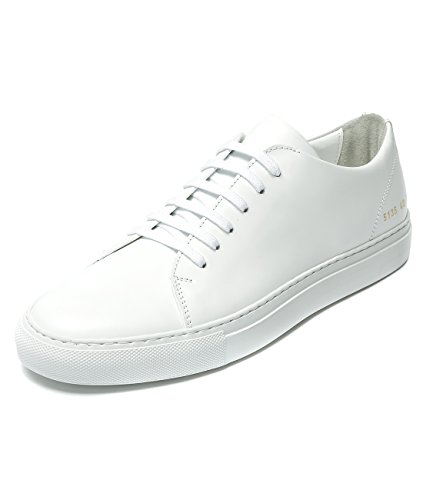 Wiberlux Common Projects Men's Real Leather Low Top Sneakers