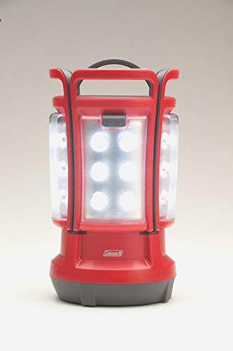 Coleman 2000024041 Quad LED Lantern Special Edition Ultra Bright 190 Lumens, Red