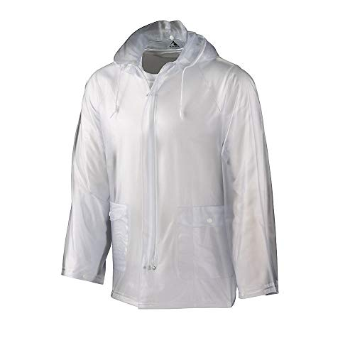 Augusta Sportswear Youth Clear Rain Jacket M Clear