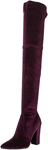 Dolce Vita Women's Emmy Fashion Boot, Mulberry Velvet, 9.5 Medium US