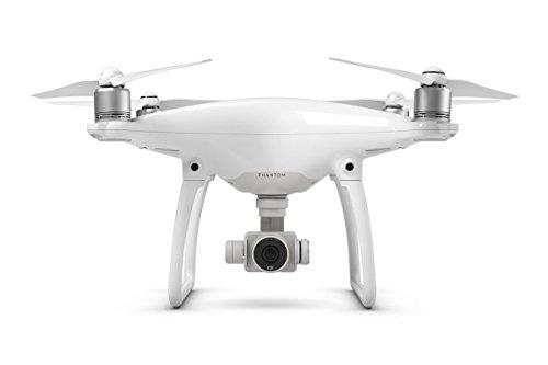 DJI Phantom 4 (Version UE) - Drone Quadricoptère avec Caméra - Offre 30-Min de Vol - Caméra 4K -...