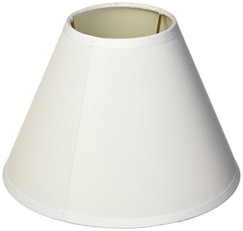 Darice 5200-29, Small Lamp Shade White Fabric-Covered