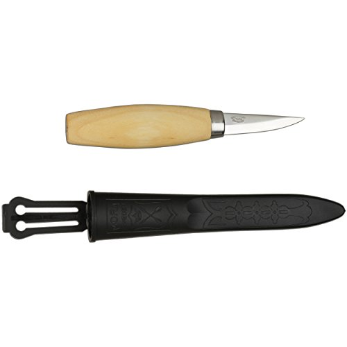 Morakniv Wood Carving 120 Knife with Laminated Steel Blade, 2.4-Inch