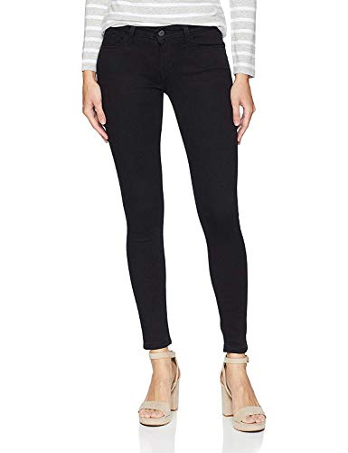 Levi's Women's 535 Super Skinny Jean, Soft Black, 28 Regular