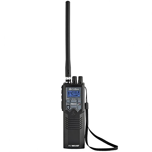 Cobra HH50WXST Hand Held CB Radio - Emergency Radio, Travel Essentials, Earphone Jack, 4 Watt, Noise...