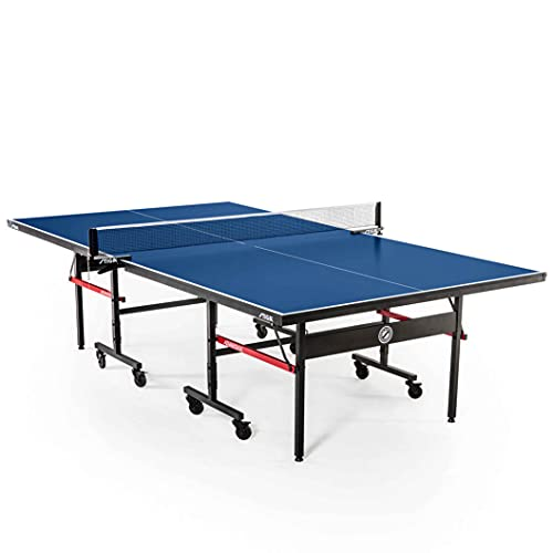 STIGA Advantage Competition-Ready Indoor Table Tennis Tables 95% Preassembled Out of the Box with...