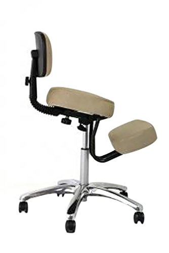 BetterPosture Jazzy Kneeling Chair – Multifunctional Ergonomic Posture Kneeling Chair Helps Reduce...