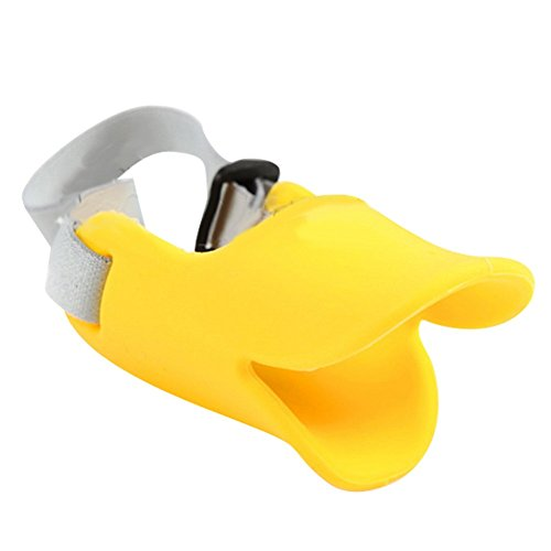 NACOCO Anti Bite Duck Mouth Shape Dog Mouth Covers Anti-Called Muzzle Masks Pet Mouth Set Bite-Proof...