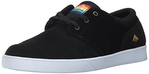 Emerica Men's The Figueroa Skateboarding Shoe, Brown/Black, 9.5 M US