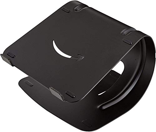 Amazon Basics Laptop Desk Stand for PC and Macbook - Black