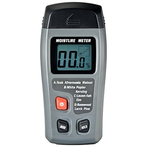 Mudder WM-01 Big LCD Display Digital Wood Moisture Meter, To Measure the Percentage of Water in...