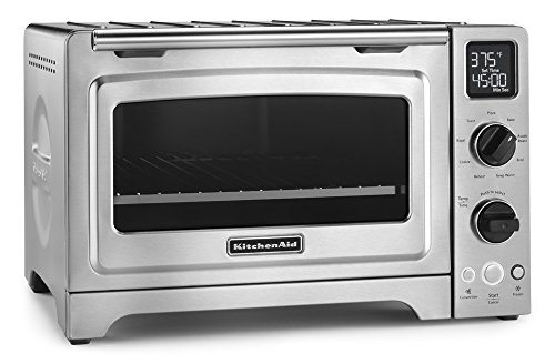 KitchenAid KCO273SS 12' Convection Bake Digital Countertop Oven - Stainless Steel