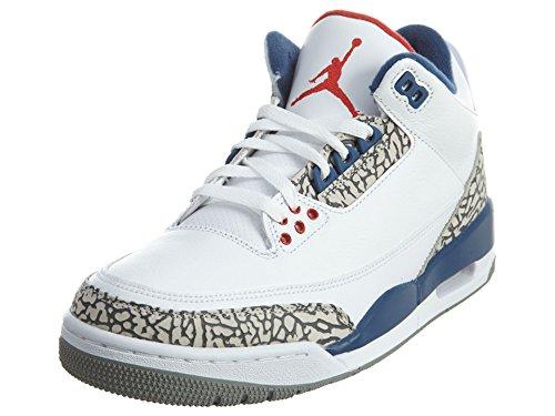 Nike Men's Air Jordan 3 Retro OG White - 10 D(M) US