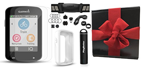 Garmin Edge 820 Gift Box Bundle with PlayBetter Silicone Case, Glass Screen Protectors (2-Pack),...