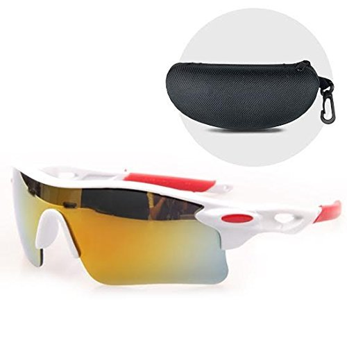 Open Road UV400 Wraparound Protection Lightweight and durable Sports Sunglasses with Hard Protective...