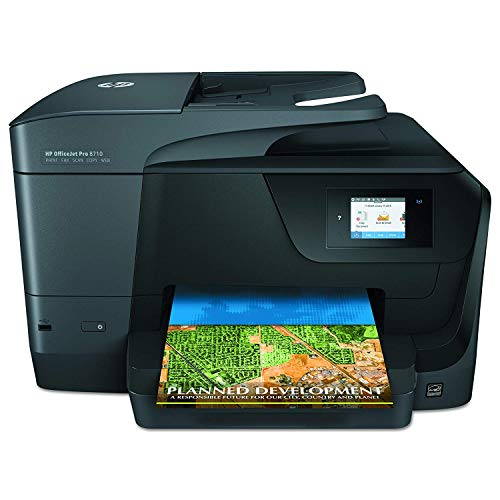 HP OfficeJet Pro 8710 All-in-One Wireless Printer, HP Instant Ink or Amazon Dash replenishment ready...