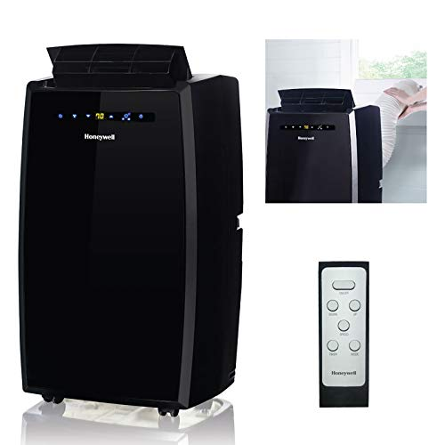 Honeywell MN12CES Portable Air Conditioner with Fan & Dehumidifier with Thermal Overload Protection,...