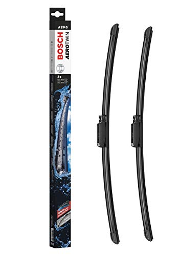 Bosch Aerotwin 3397118934 Original Equipment Replacement Wiper Blade - 22'/22' (Set of 2) Top Lock