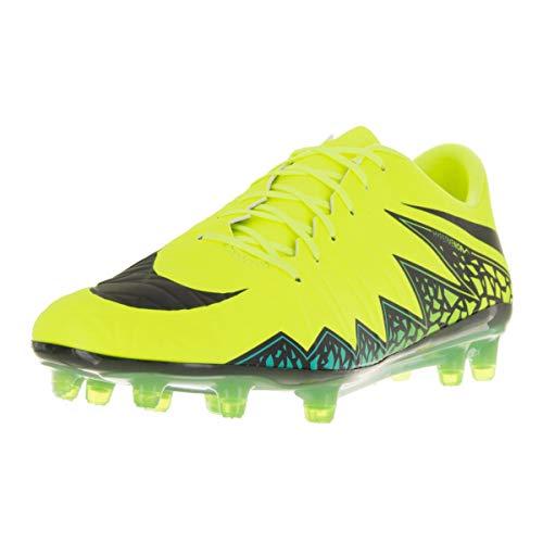 Nike Women's Hypervenom Phatal II FG Soccer Cleat (6.5, Blue Lagoon/White-Volt-Black)
