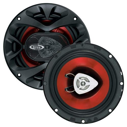 BOSS Audio Systems CH6520 Car Speakers - 250 Watts of Power Per Pair, 125 Watts Each, 6.5 Inch, Full...