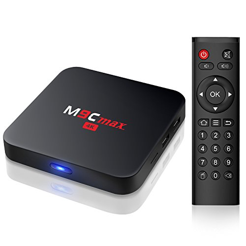 Bqeel M9Cmax Android 6.0 Marshmallow Am Logic S905X Chipset [2G DDR3/16G Emmc] 4K Android Tv Box...