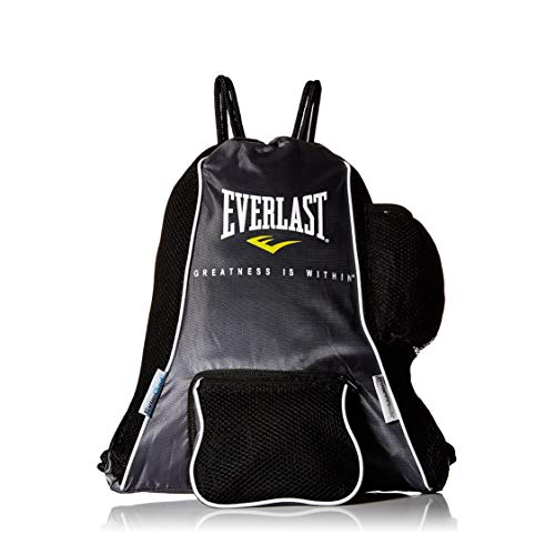 Everlast 420D Glove Bag, Black