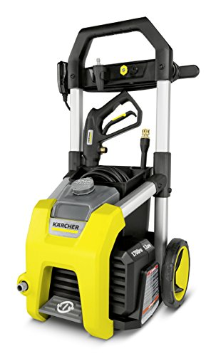 Karcher K1700 Electric Power Pressure Washer 1700 PSI TruPressure, 3-Year Warranty, Turbo Nozzle...