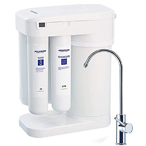 Aquaphor Water Filters RO-101 Reverse Osmosis Water Filtration System 7 Stage Non Electric Compact...