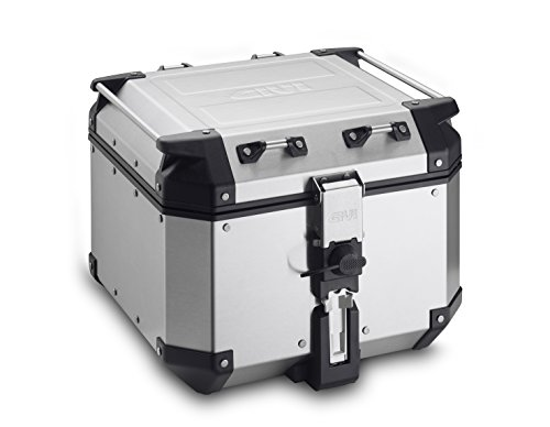 GIVI OBK42A 42 Liter Outback Monokey Top Case Silver