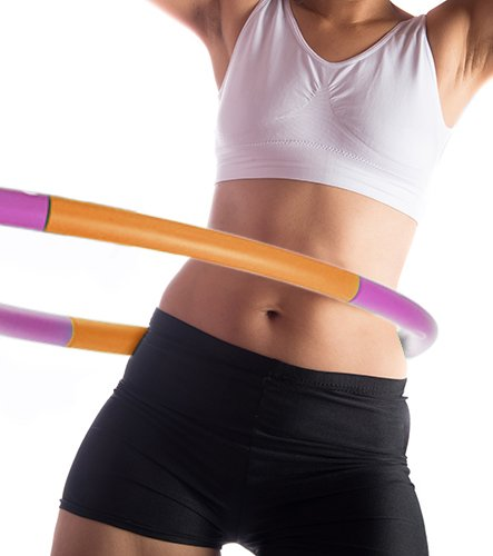 Empower Weighted Hula Hoop for Women, Weighted Fitness Hoop for Exercise, Cardio, Dance, Fat...