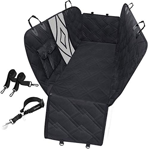 URPOWER 100% Waterproof Dog Car Seat Covers Car Cover for Dogs Pet Seat Cover with Side Flaps...